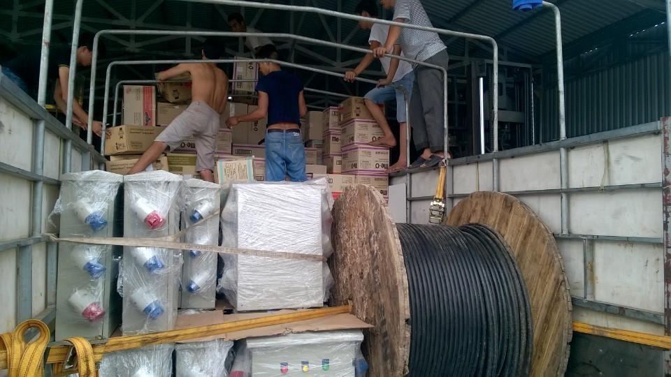 Chành xe vận chuyển hàng hóa đi Bà Rịa - Vũng Tàu
