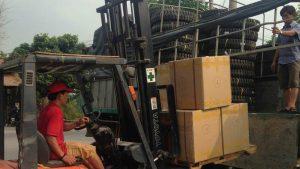 Chành xe chuyển hàng đi Bắc Giang