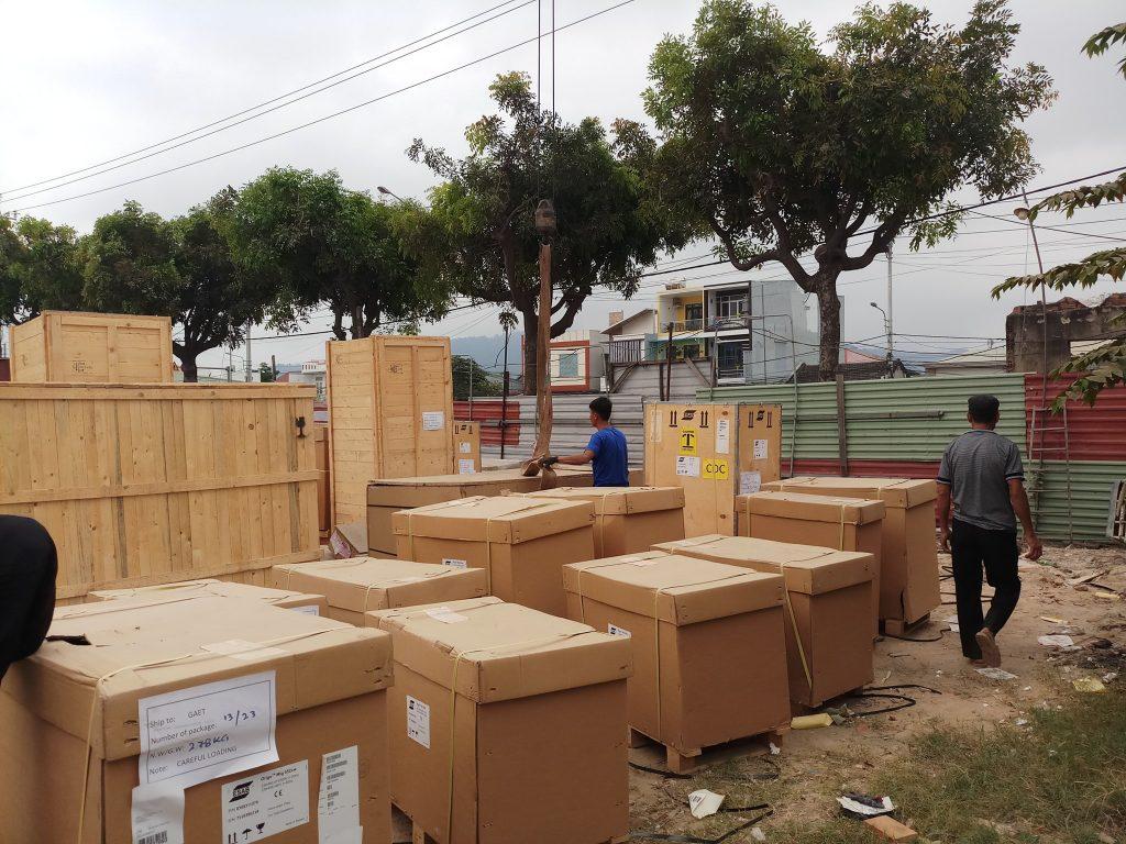 Chành xe vận chuyển hàng hóa đi Thái Nguyên