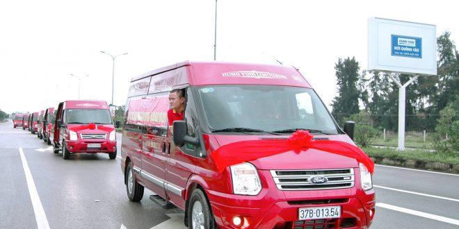 Xe đi Vinh từ Bến xe Nước Ngầm: Hồng Vinh Limousine