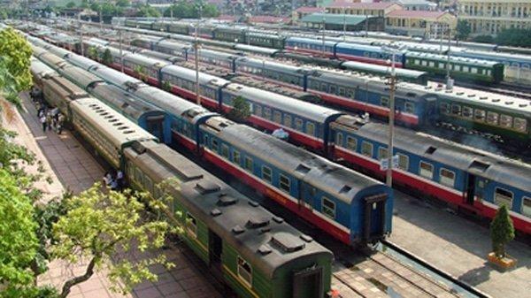 Vận chuyển hàng hóa Bắc Nam bằng đường sắt