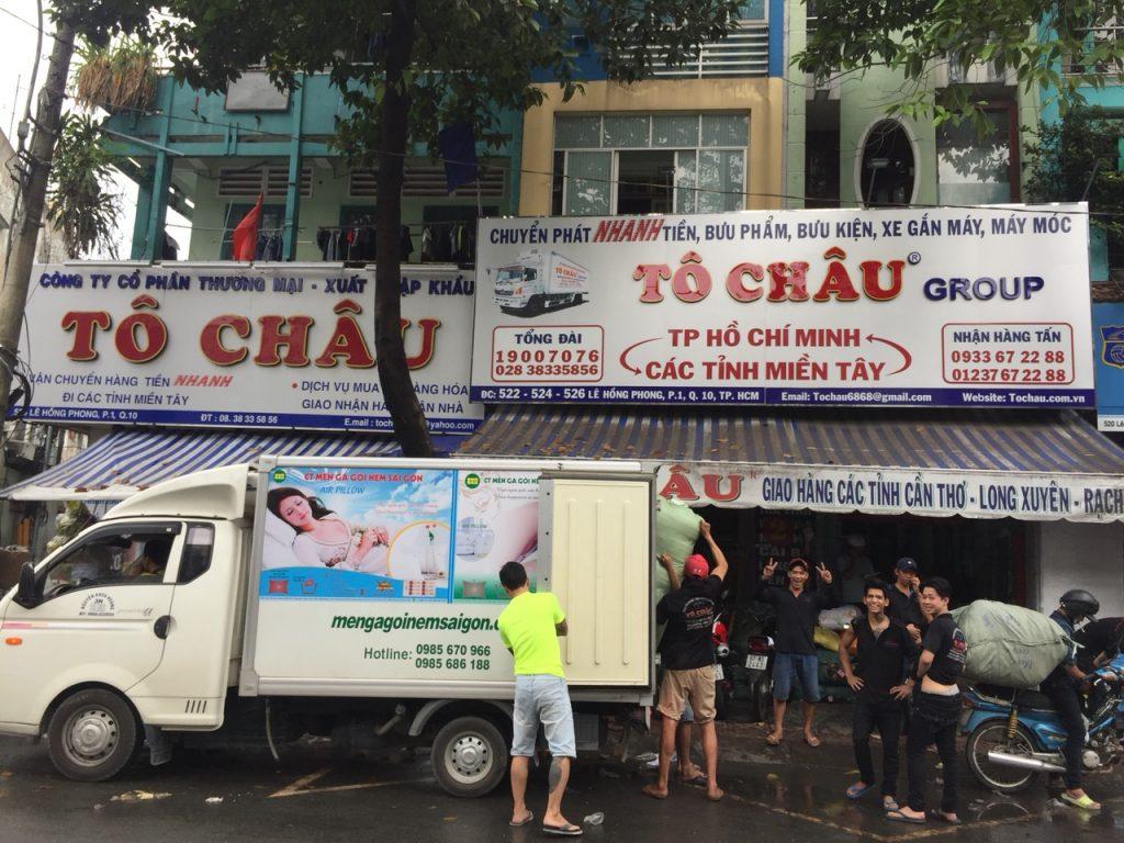 Chành xe Tô Châu Lê Hồng Phong
