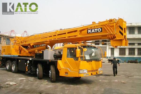 Thông số kỹ thuật cẩu Kato 50 tấn